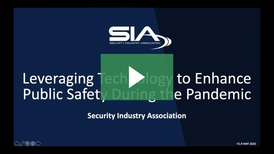 Security Industry Authority (SIA) Webinar