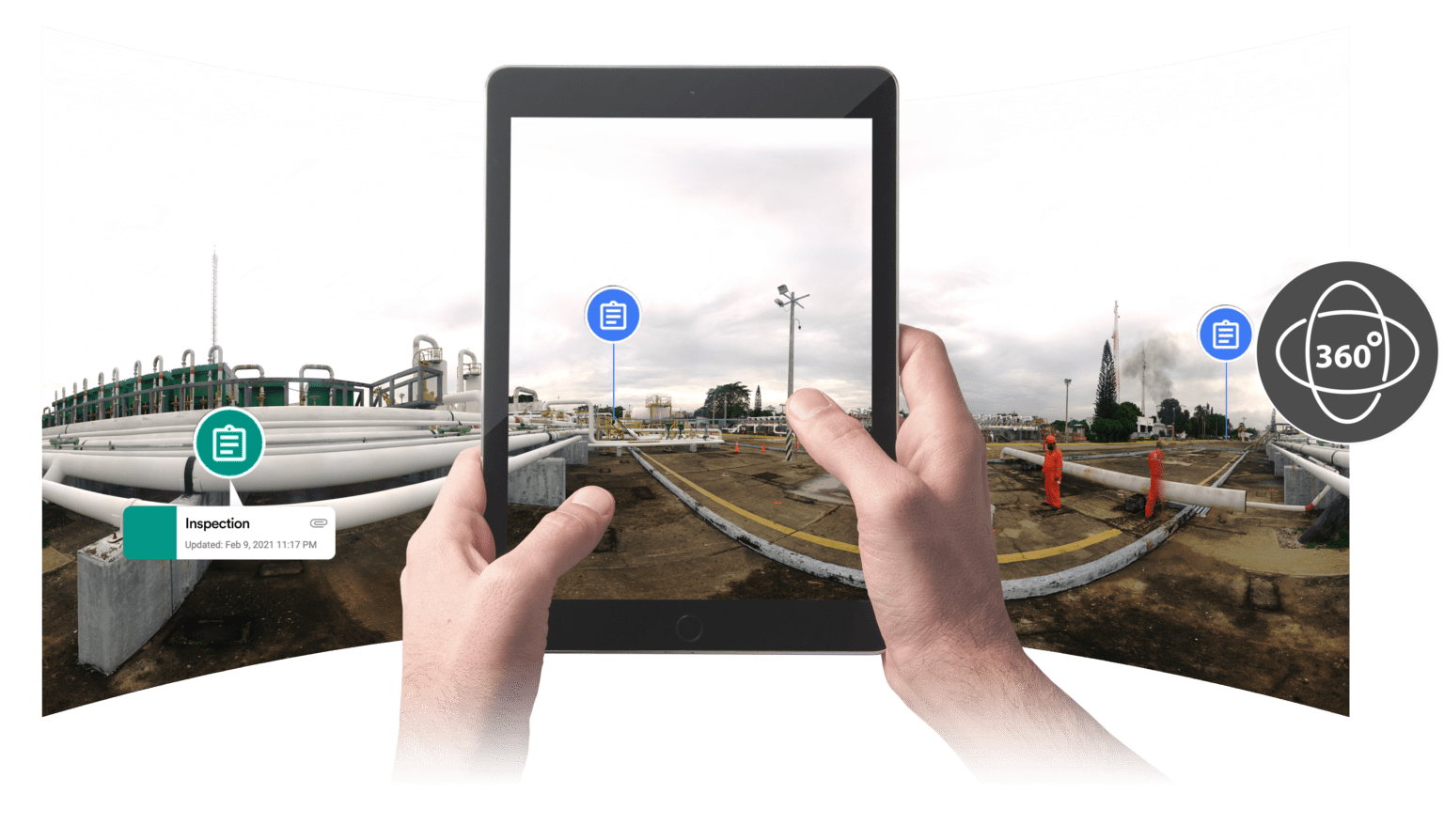 360 photo and annotation documentation for refinery