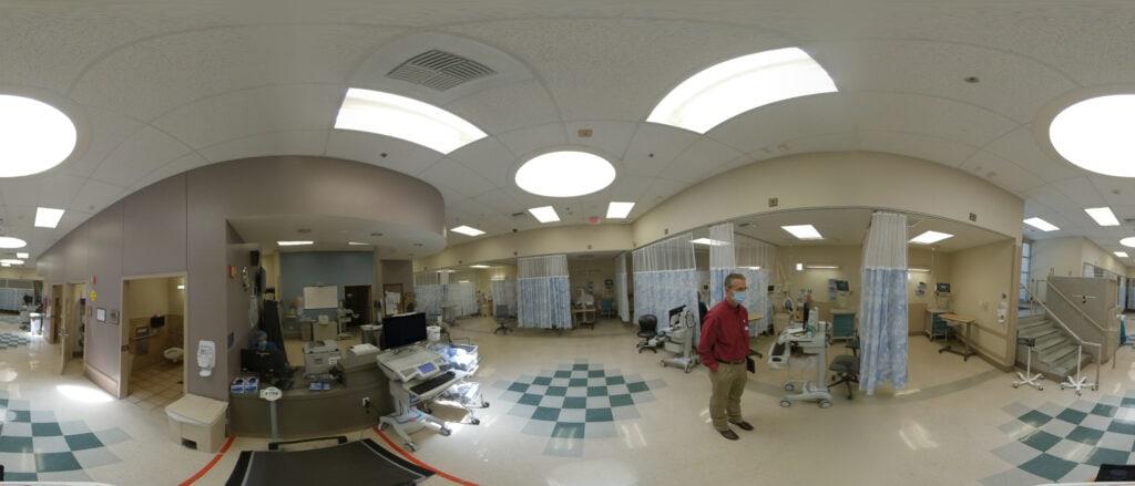 Hospital Security System Design 360 Photo Capture