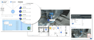 Integrate BIM 360, ProCore and PlanGrid documentation with 360 Photos in SiteView 360 photogrammetry asset management system