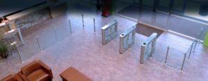 Orion Entrance Control security turnstile installation