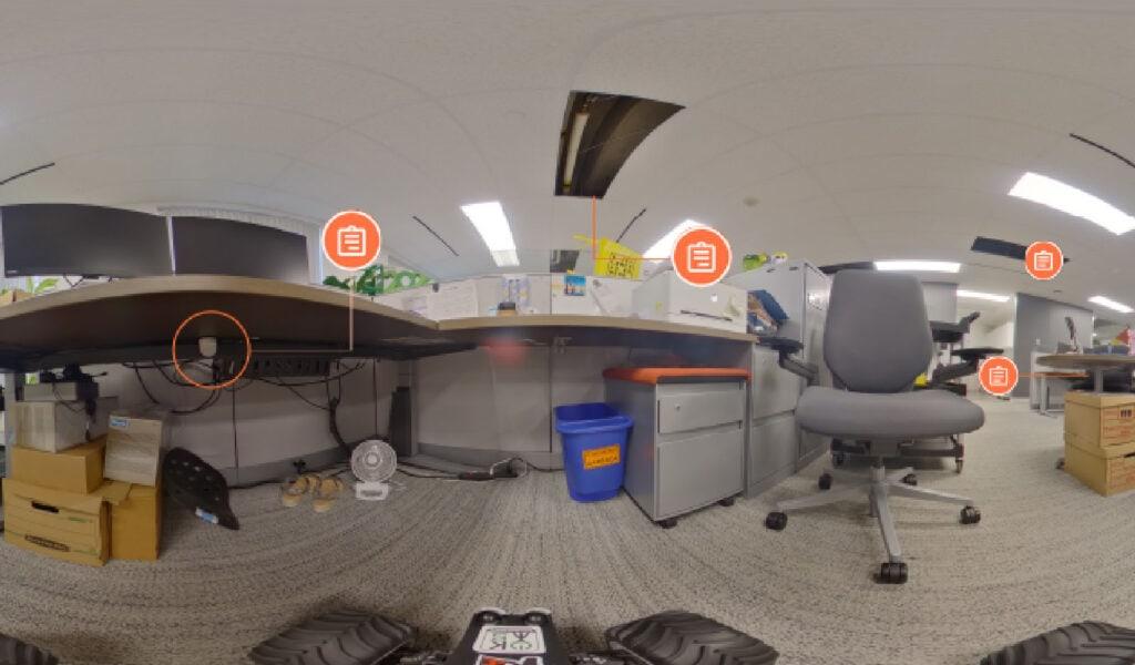 360 Photos of Occupational Sensor and Security Sensor Placement